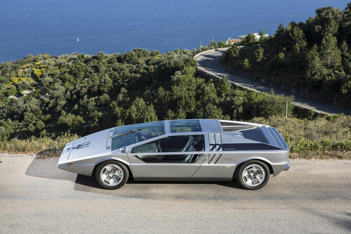The Maserati Boomerang concept car by Giorgetto Giugiaro, made its first appearance at the 1971 Turin motor show, now this automotive icon will be offered for sale by auction in September this year.