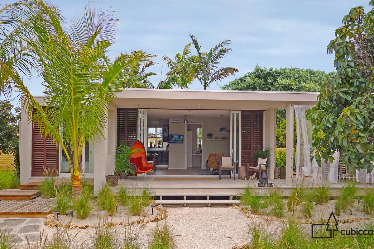 Florida-based Cubicco's line of flatpack homes are tougher than they look