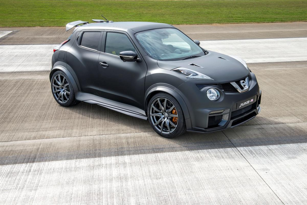 The all-new Nissan Juke-R revealed