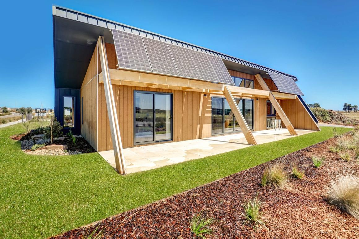 The CORE 9 prototype is designed to provide a housing solution that is cost effective and sustainable
