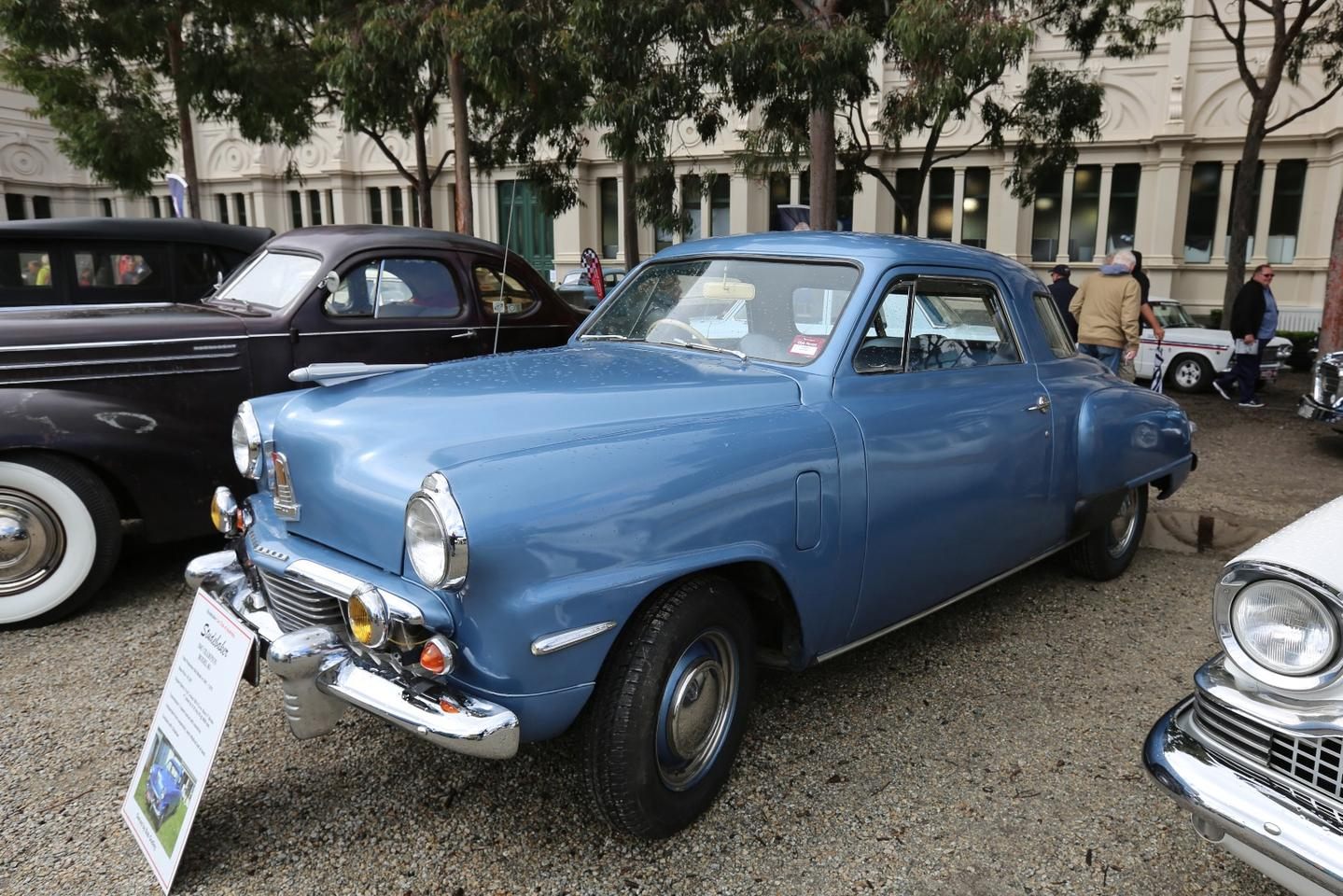 The Studebaker Car Club of Australia 1947 Champion Model 6G cost $1,287 in 1947 and had a 170 cubic inch six cylinder motor.