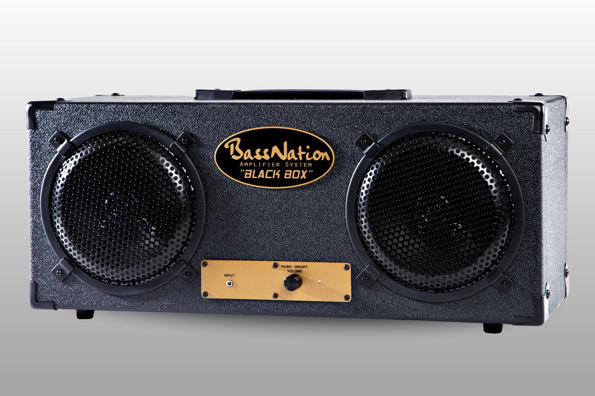 BassNation Audio has released the BlackBox speaker system, which can be used with any device with a 3.5-mm audio jack or RCA phono outputs