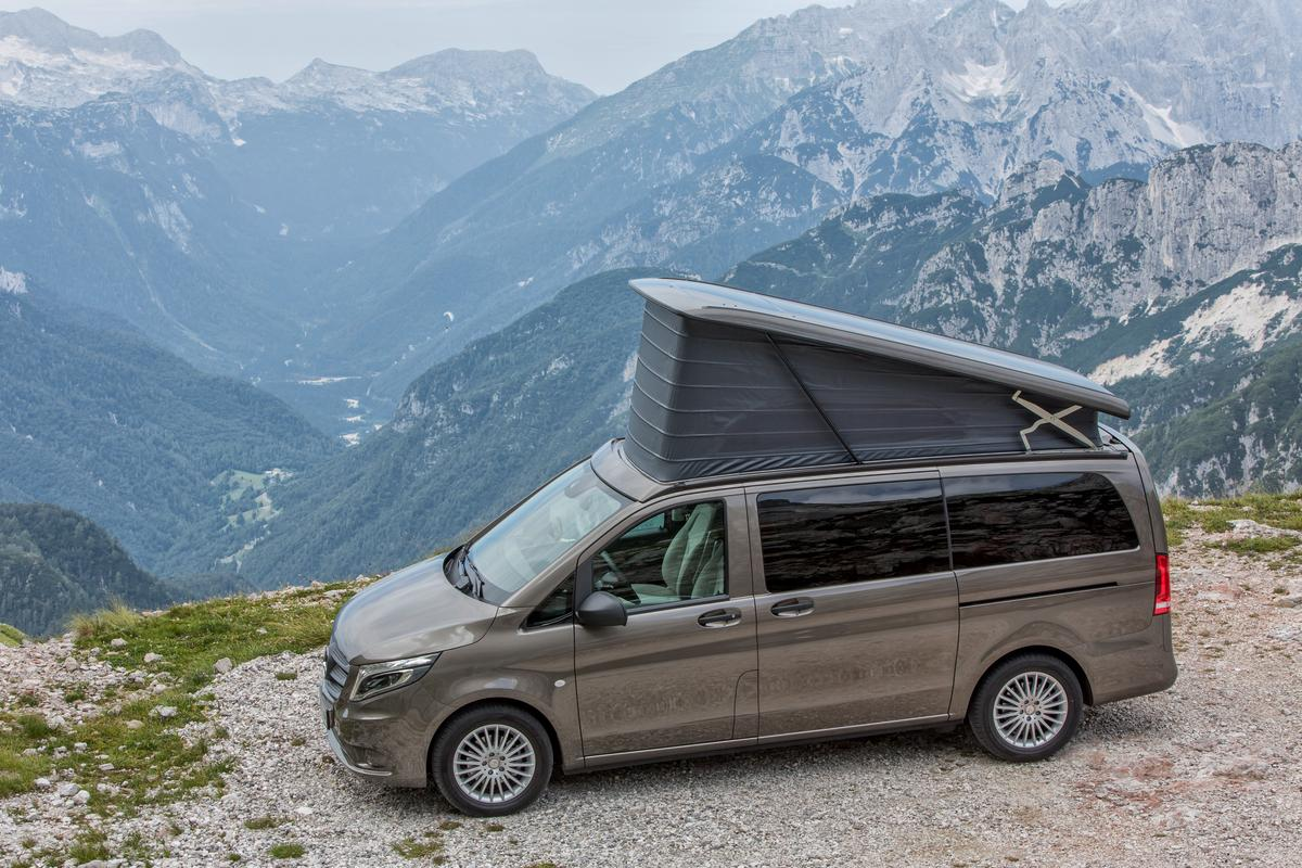 The all-new Mercedes Marco Polo Activity debuts at the 2014 Düsseldorf Caravan Salon