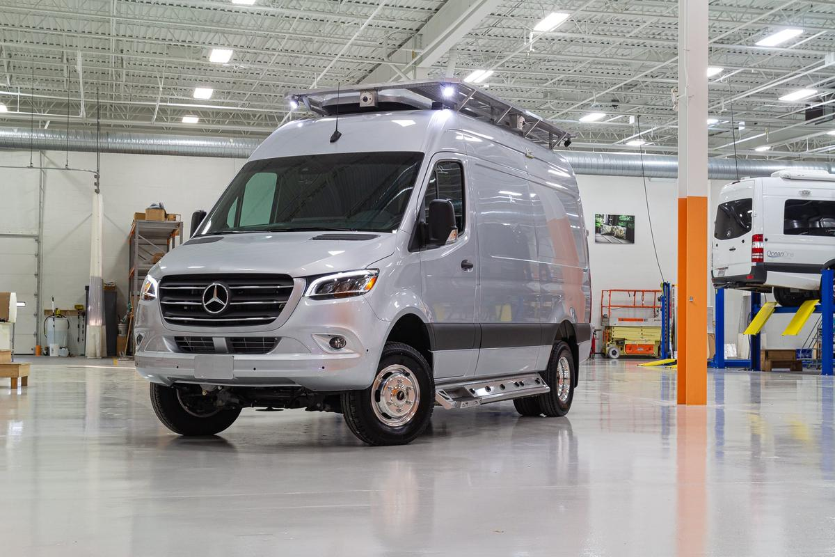 The Last Resort is based on a Mercedes Sprinter 4x4 144