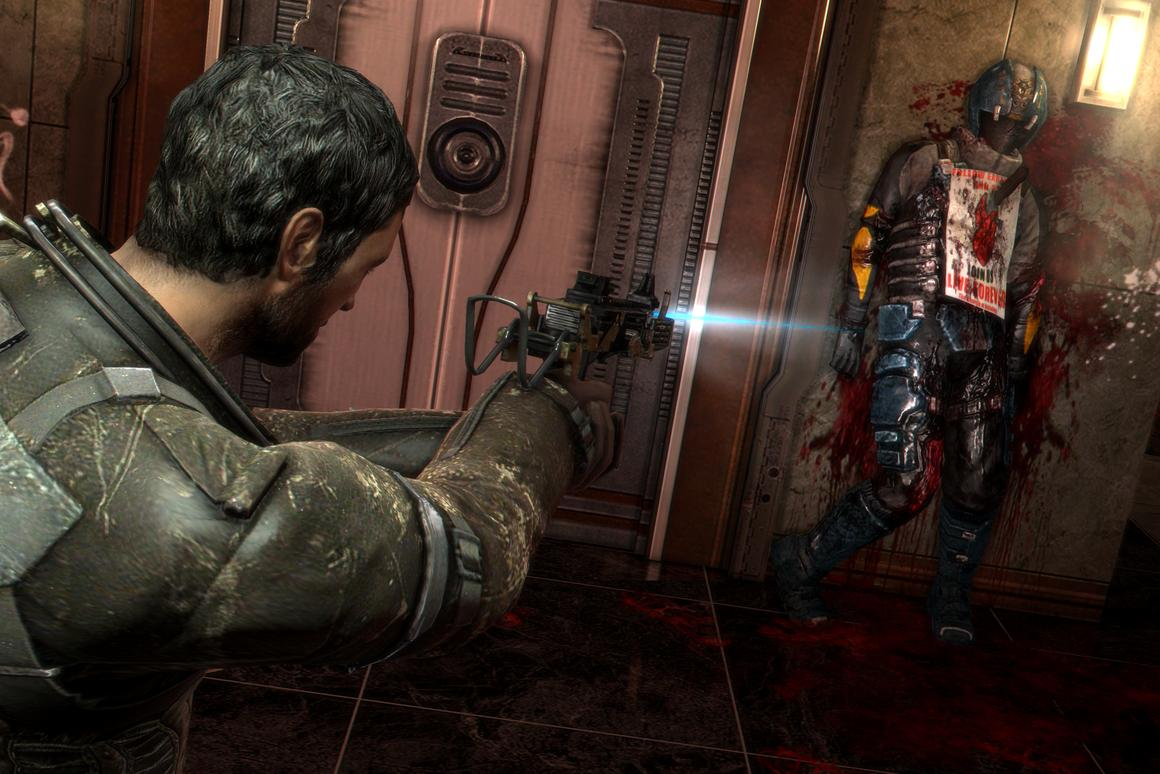 Gory is an understatement when looking at Dead Space