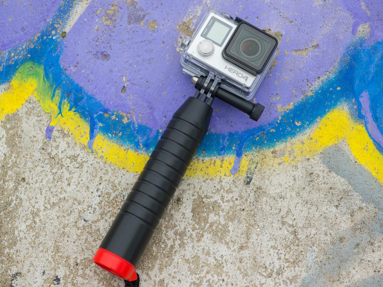 The Joby Action Grip doesn't have to be used in the water (Photo: Simon Crisp/Gizmag.com)