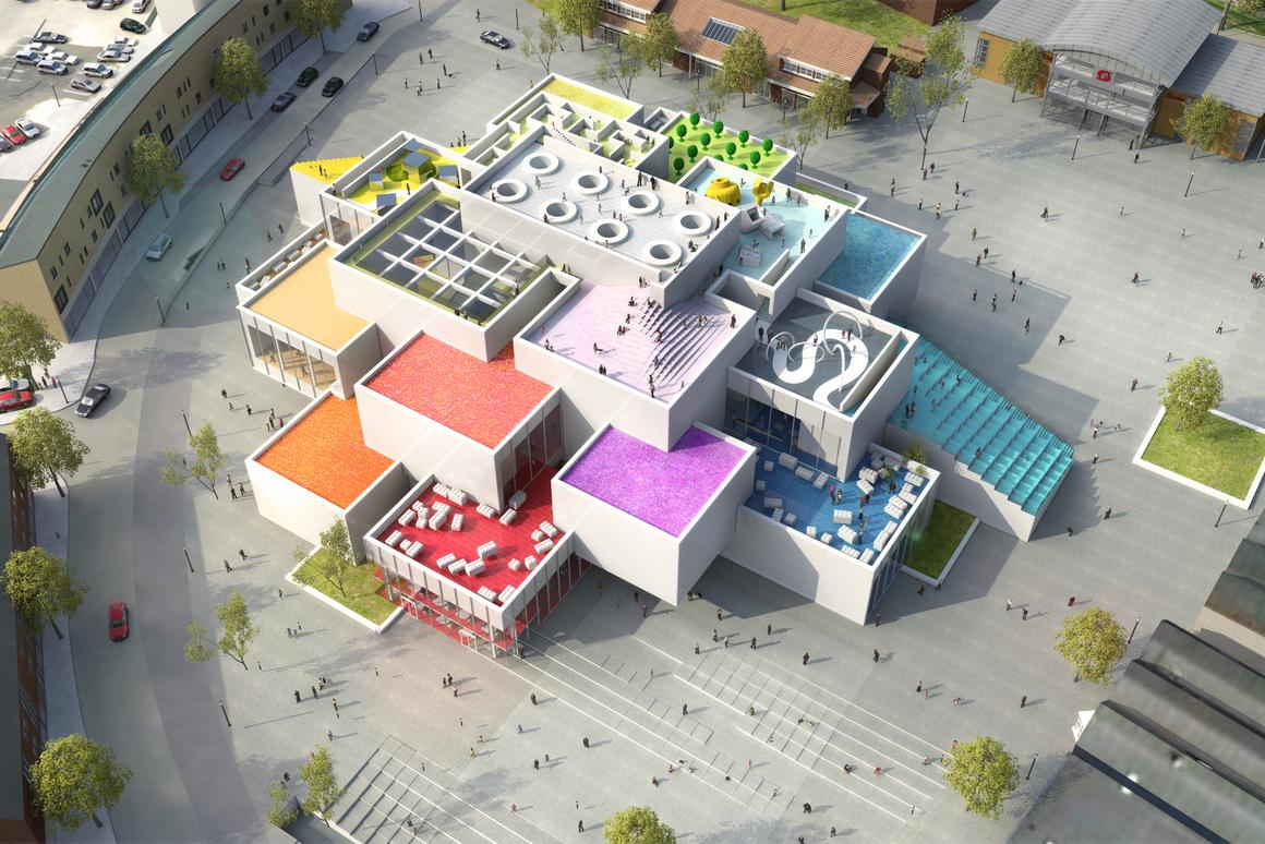 The Lego House is expected to be completed in 2016 (Image: The Lego Group)