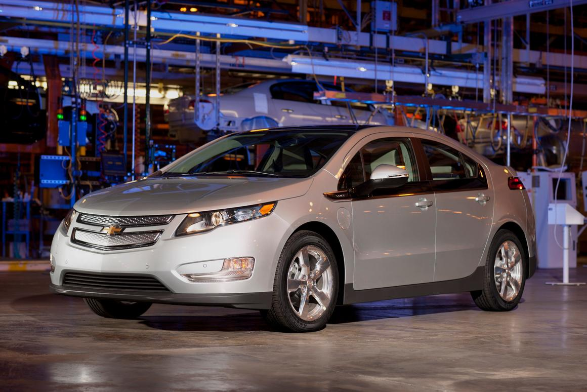 The first commercially-available Chevrolet Volt, which is being auctioned off for charity (Photo: GM)