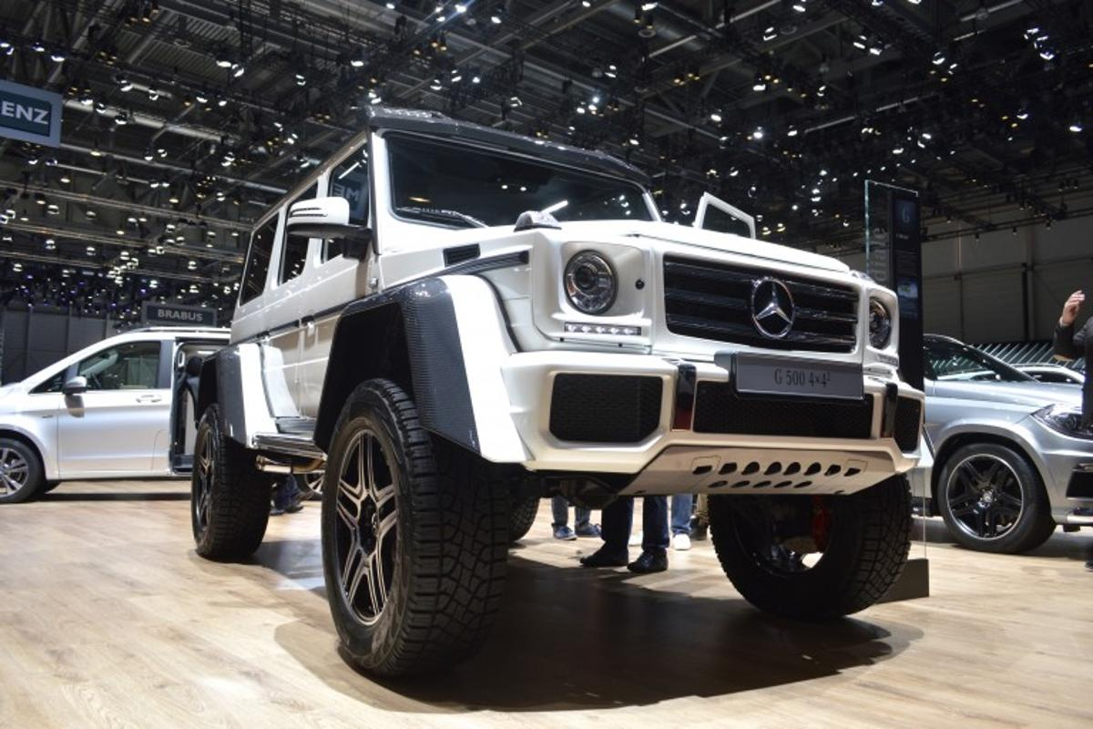 The G500 4x4 Squared at the 2015 Geneva Motor Show
