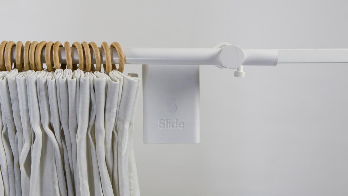Slide makes normal curtains smart and connected