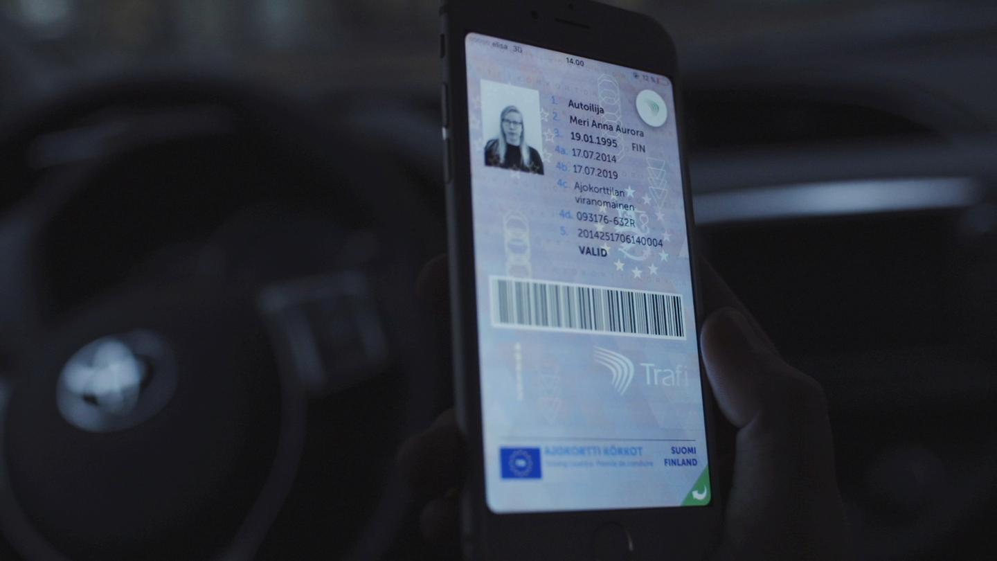 The Digital Driving License will always benefit from the latest available photograph of the driver, and current status and vehicle information