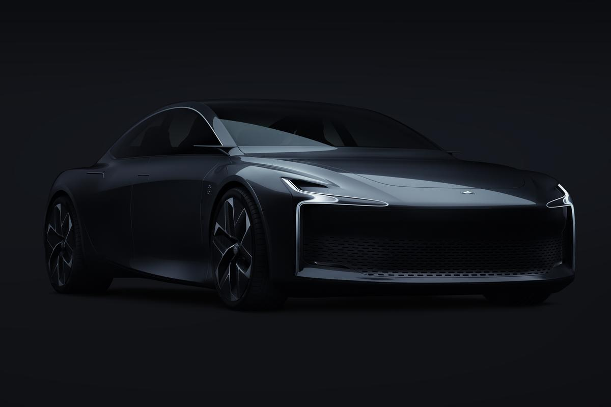 The Hopium Machina is a 500-horsepower hydrogen performance sedan