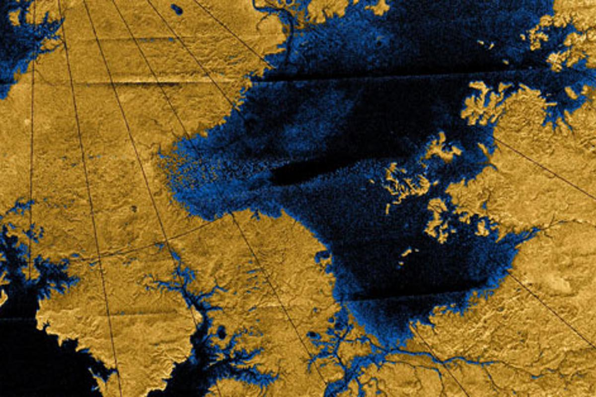 Findings at MIT suggest that Titan's geological phenomena may bear remarkably close similarities to those found on Earth (Image: NASA/JPL/USGS)