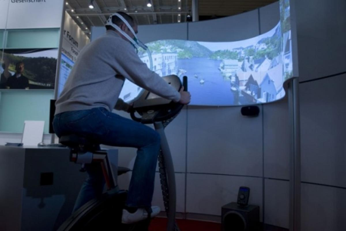 Fitness@home virtual training system
