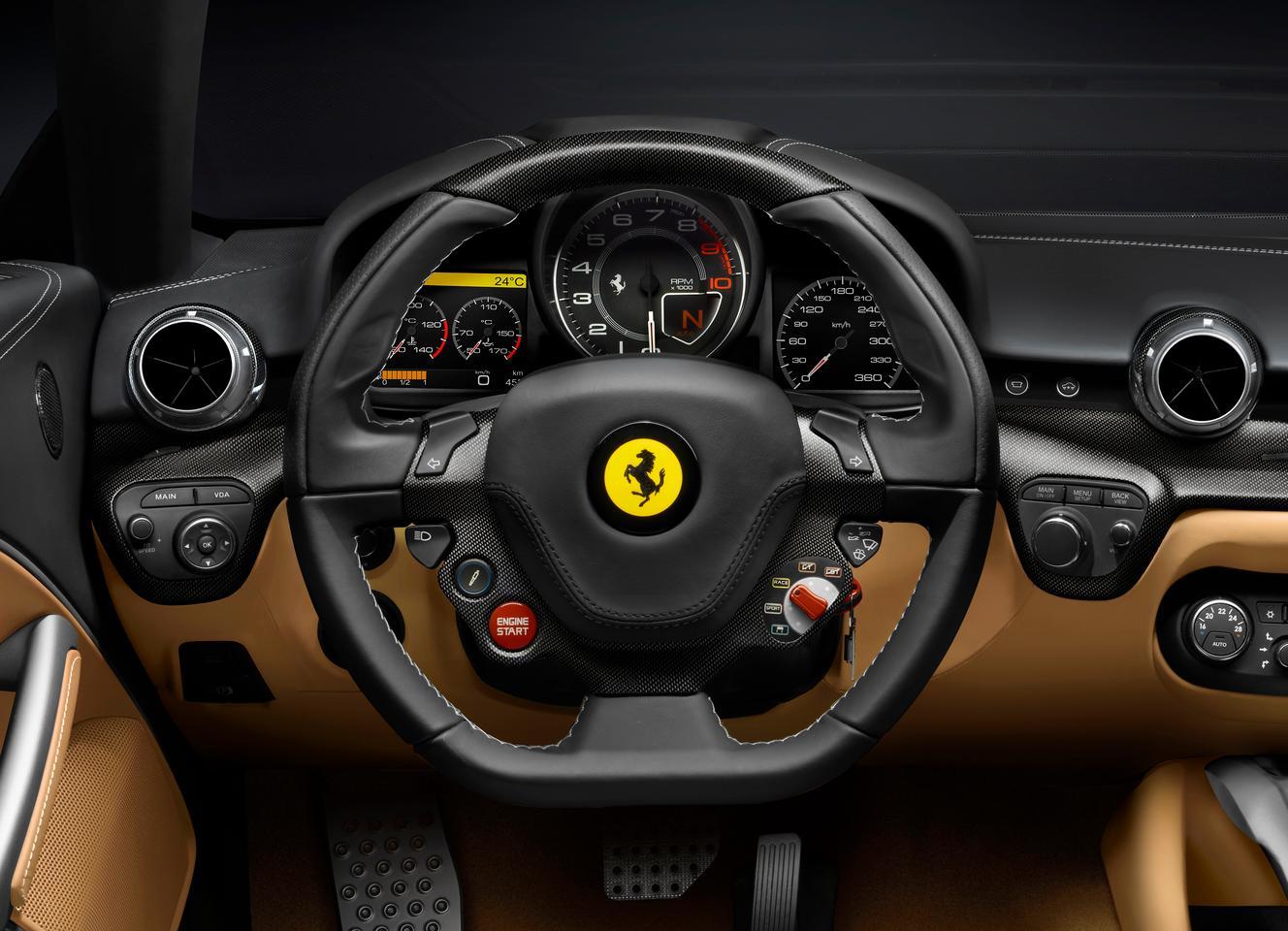 Inside the new Ferrari F12berlinetta