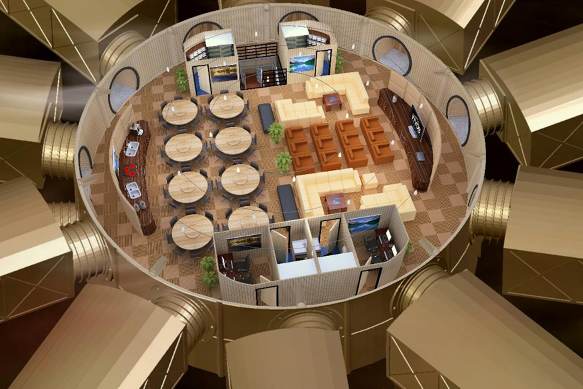 The Vivos Underground Survival Shelter will accommodate up to 200 people in post apocalyptic luxury