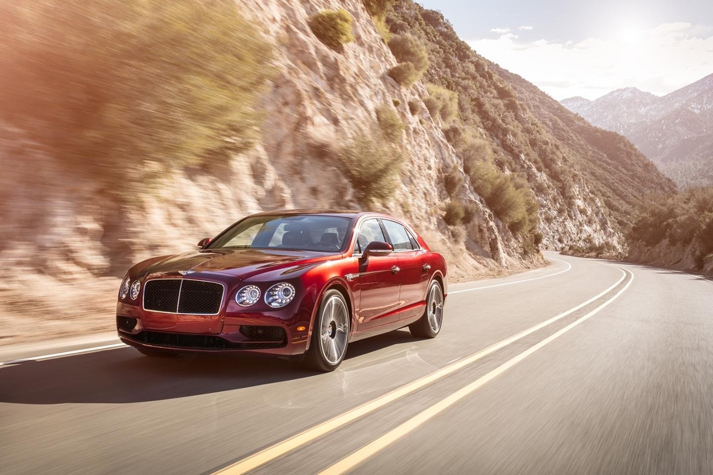 "Bentley says the Flying Spur V8 S has been ""tuned for power and performance"""