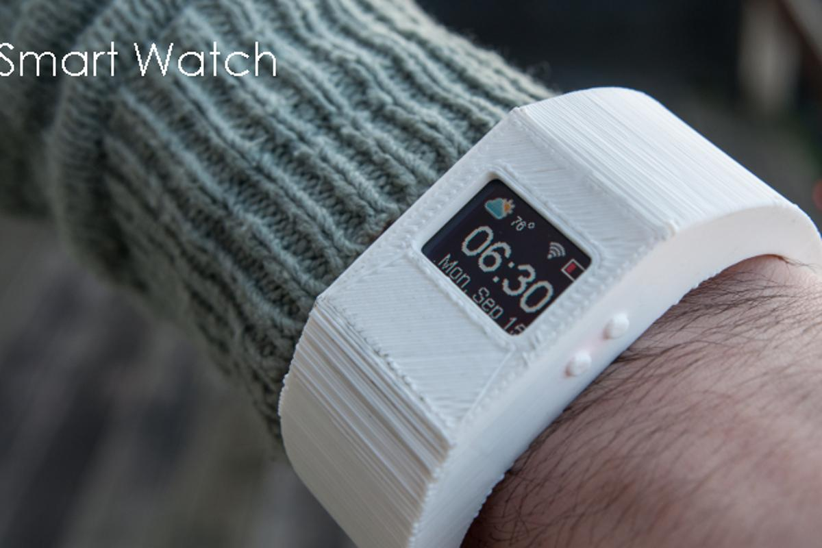 TinyScreen can be used as a smart watch right out of the box