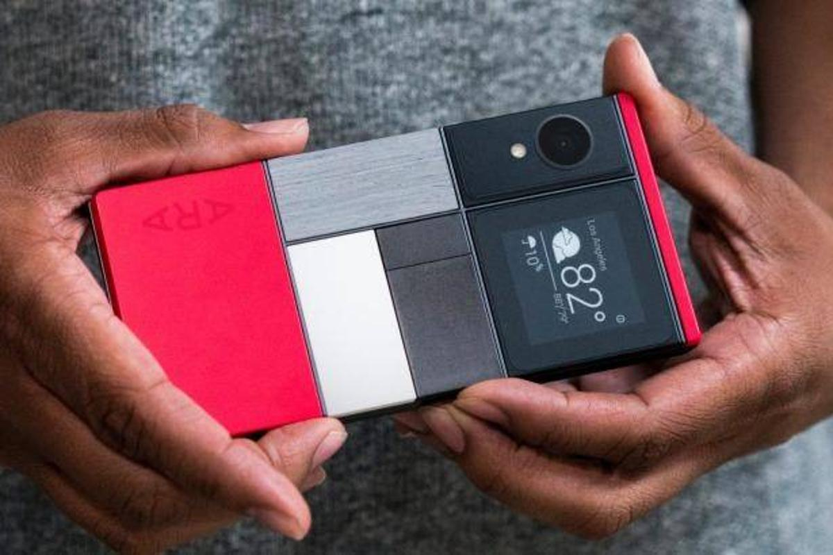 Project Ara is Google's modular smartphone, meaning hardware components like cameras, speakers and batteries can be swapped out and upgraded