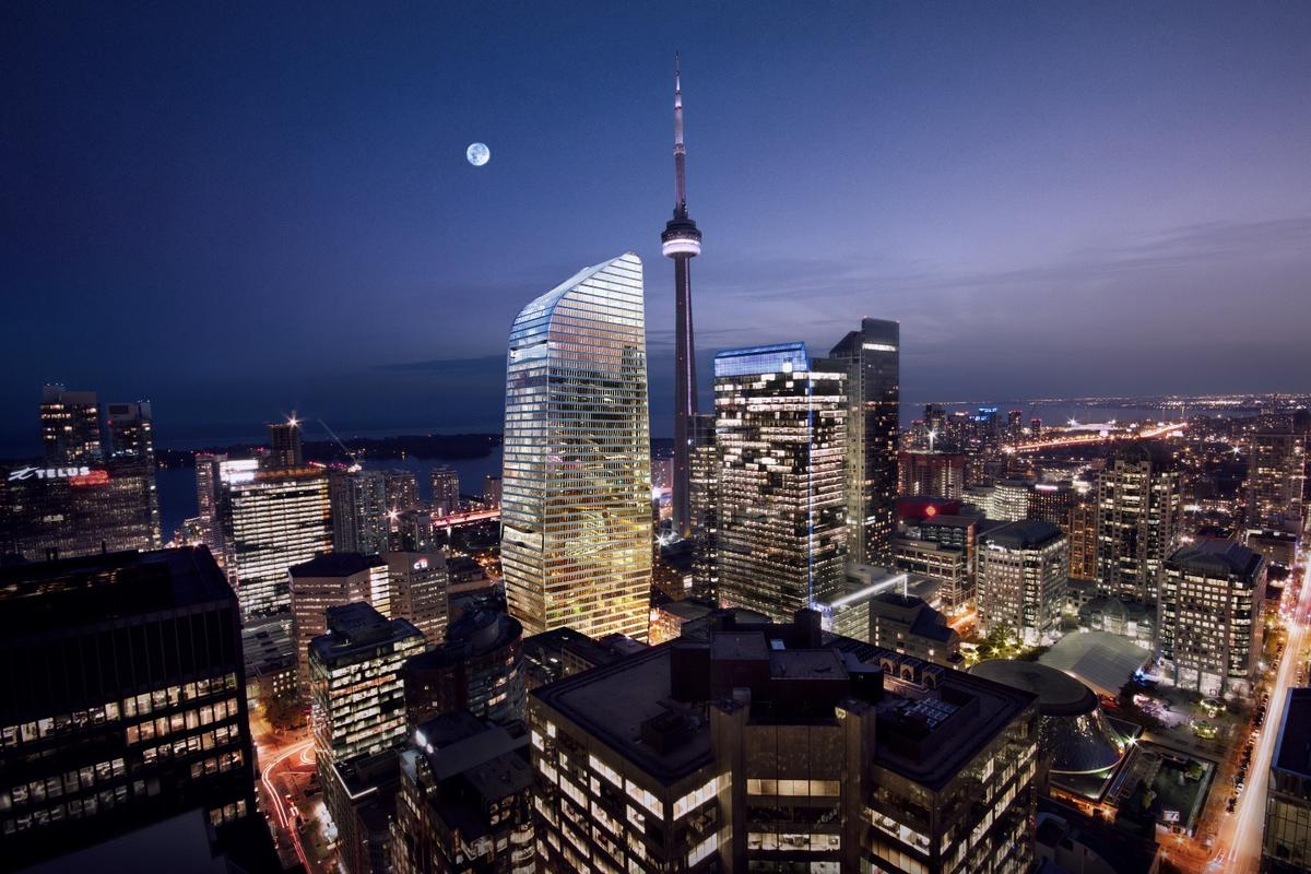 160 Front Street will be located near Toronto's iconic CN Tower