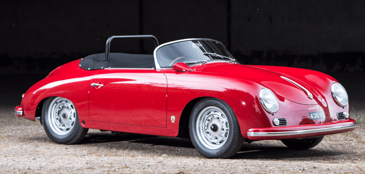 The recipient of an extensive £100,000 restoration that was completed just three years ago, this Porsche 356A Carrera Speedster with coachwork by Reutter topped the Bonhams Goodwood sale. Auction description