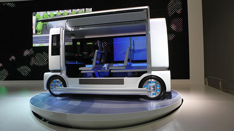 "Daihatsu ""shoCase"" hybrid concept vehicle"
