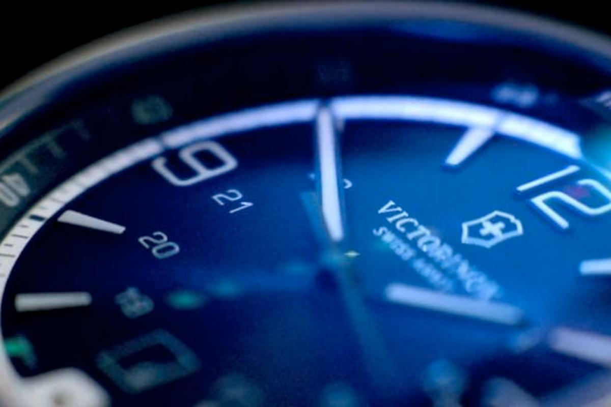 Swiss Army manufacturer Victorinox has updated its Night Vision LED watch