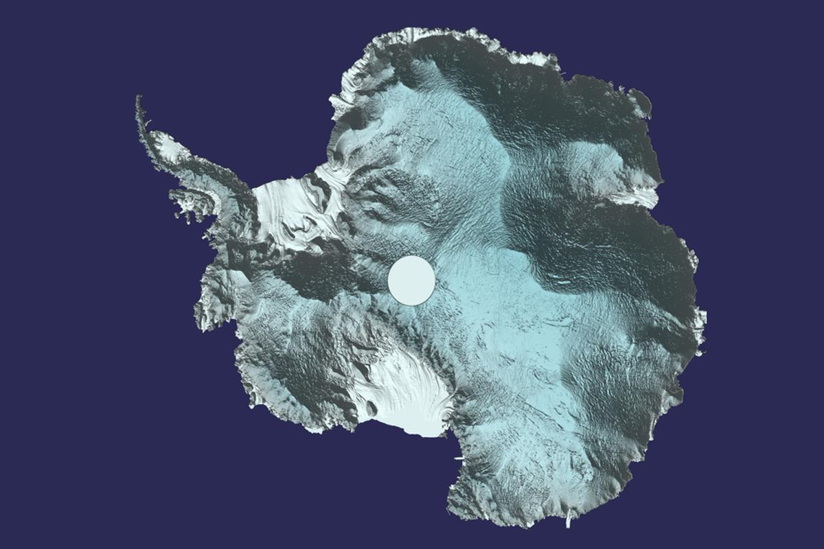 The 3D image was created using around 250 million measurements taken by ESA's CryoSat mission between 2010 and 2016