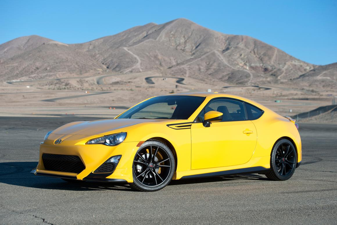 The FR-S Release Series 1.0 is rolling into dealerships
