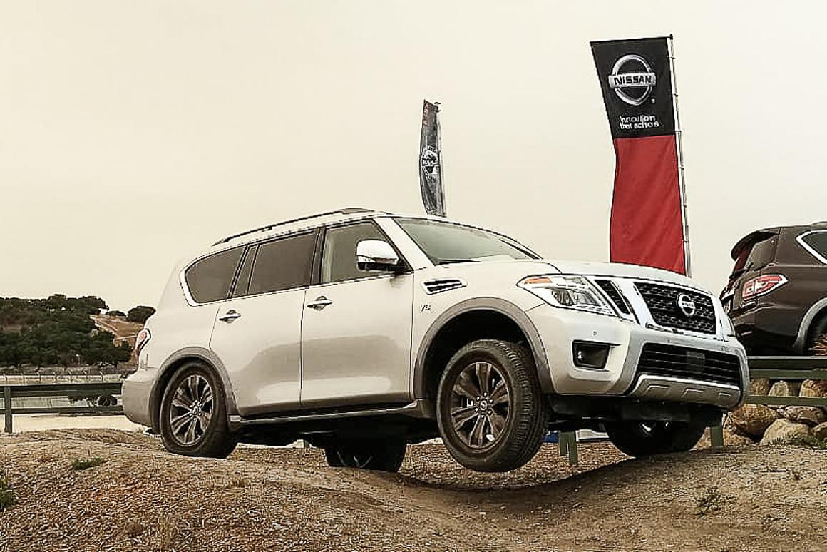 The Nissan Armada, or as it's known to the rest of the world,  the Patrol