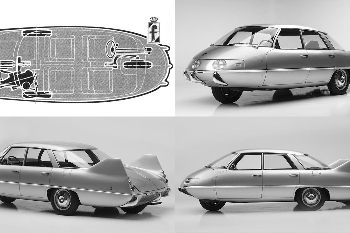 Batista Pininfarina's personal championing of this radical project to build a more efficient vehicle shows just how far ahead of the game the Italian design house was in terms of aerodynamics. Pininfarina personally drove the X to various manufacturers in an attempt to persuade them to mass-produce the car, so the buyer can be assured that the car has been driven by one of automotive history's greatest names.