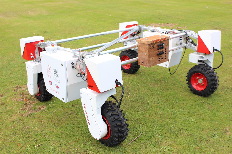 TheThorvald agricultural robotic platform