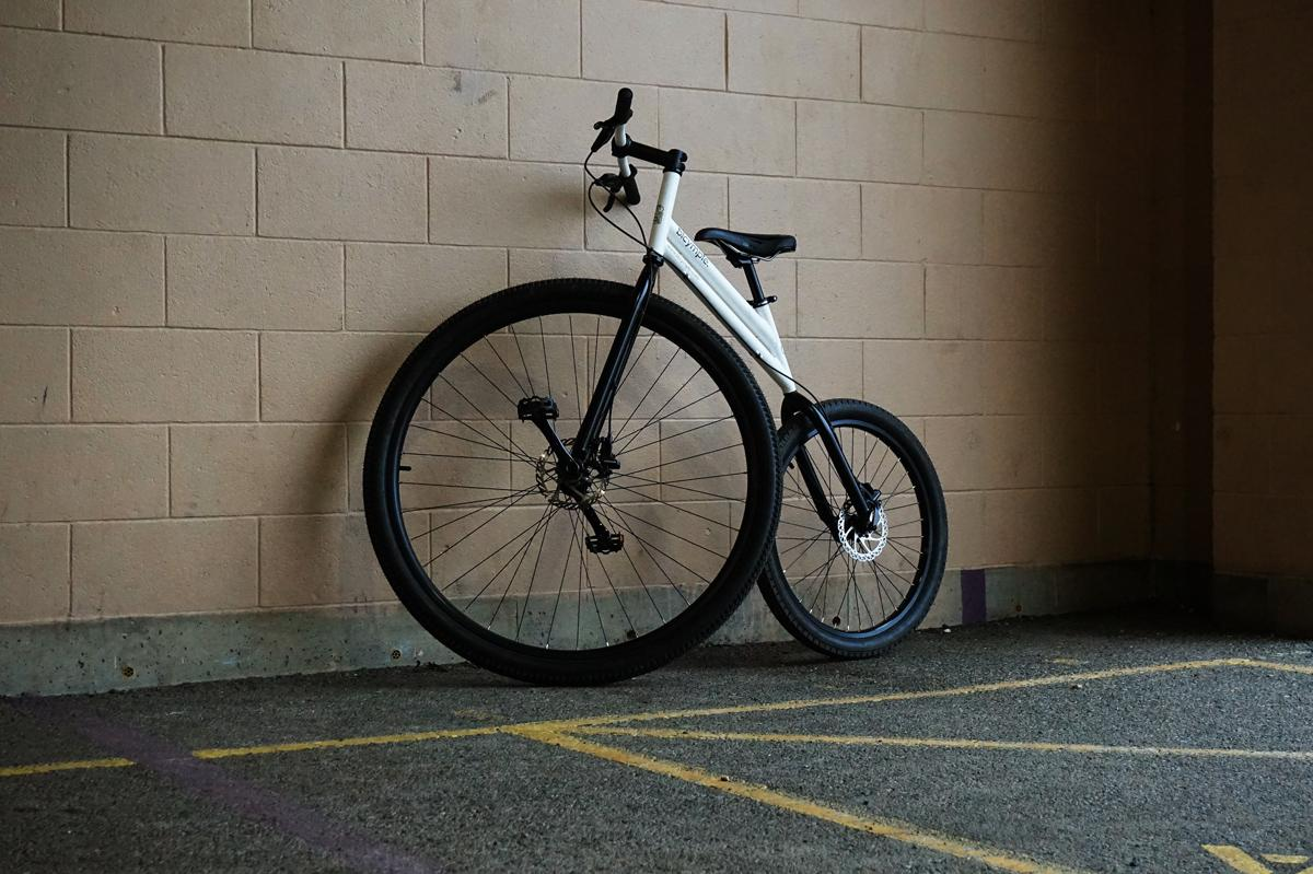 The Bicymple Nuvo will definitely get you noticed