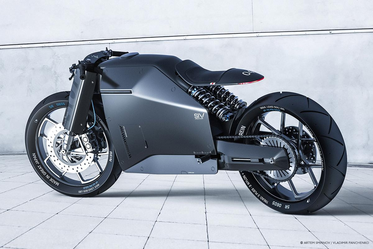 Samurai motorcycle concept:a vision of a truly Japanese motorcycle design aesthetic
