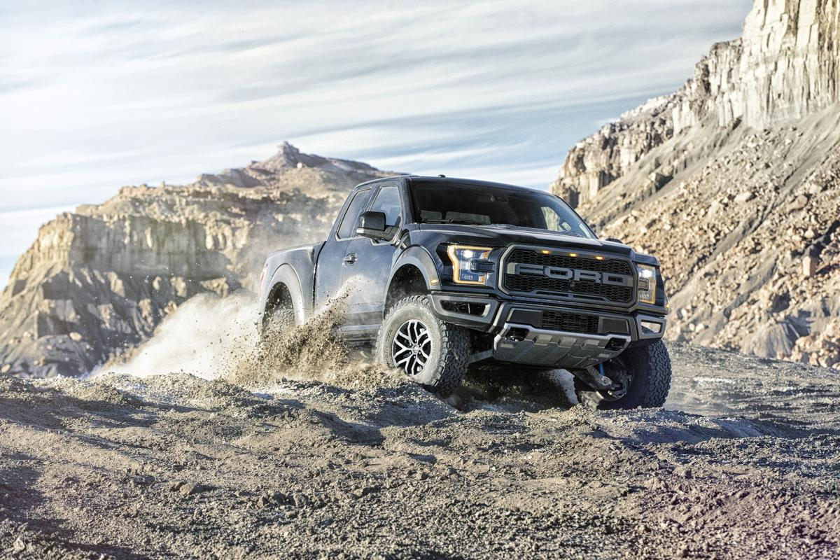 A clever clutch pack is at the core of the Raptor's capabilities