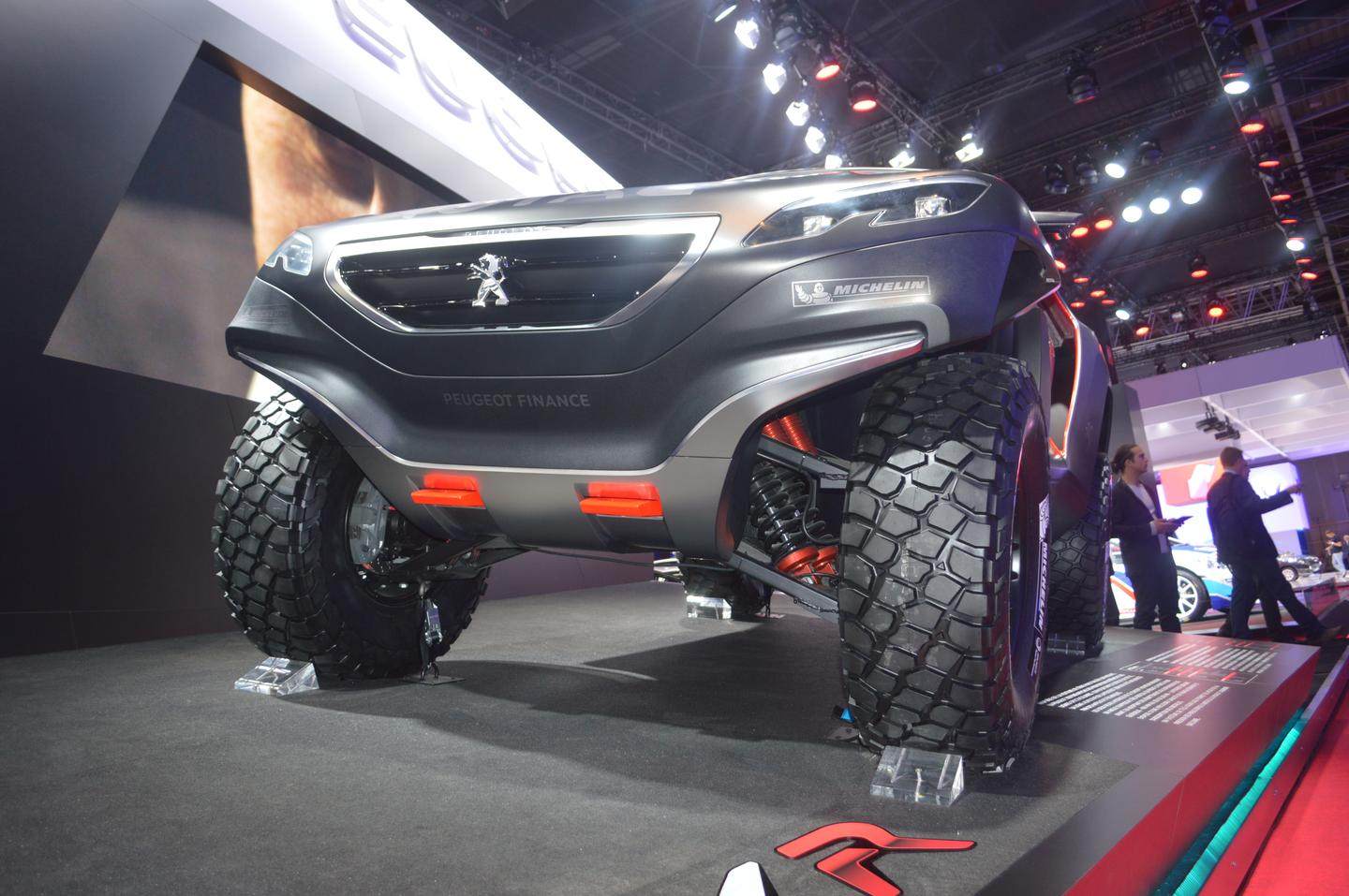 The Peugeot 2008 DKR will debut at Dakar in January (Photo: C.C. Weiss/Gizmag)