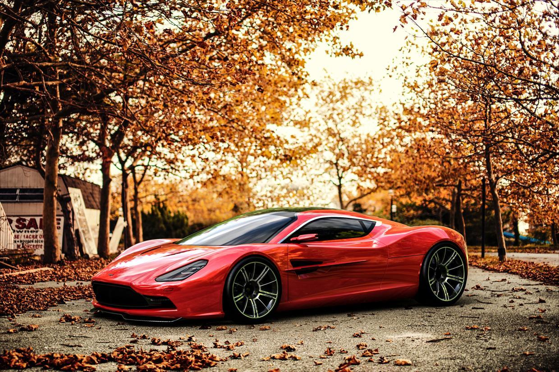 Aston Martin DMC Concept by Samir Sadikhov