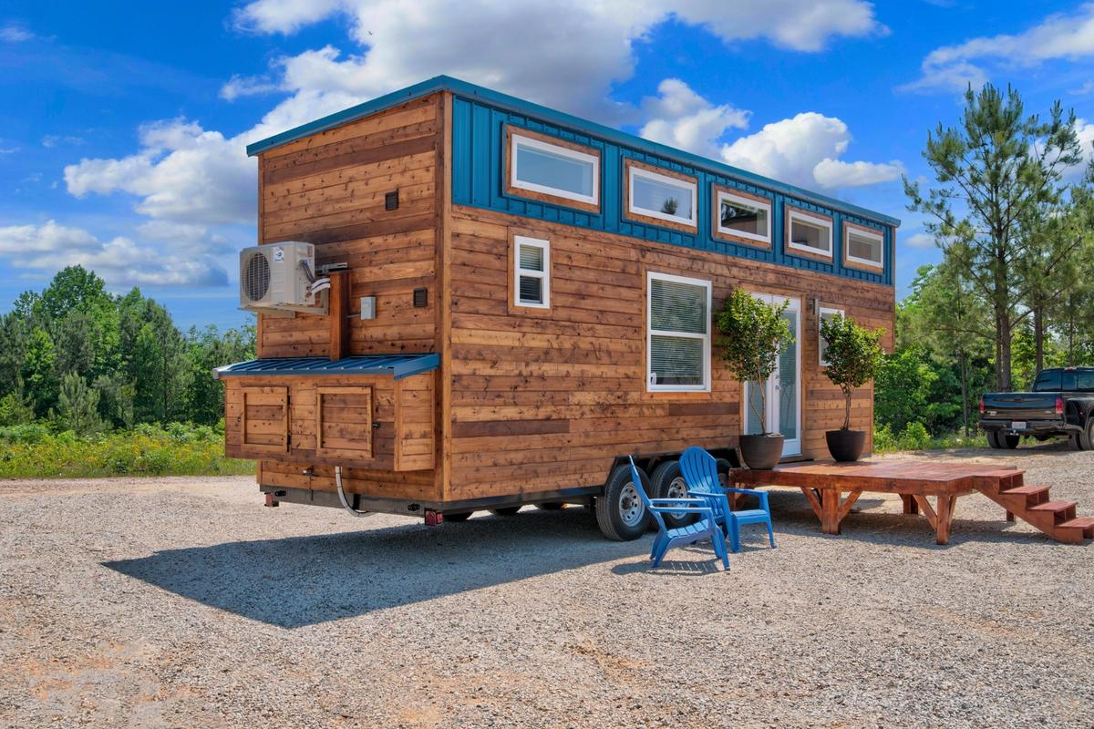 The Journey tiny house, by Alabama Tiny Homes