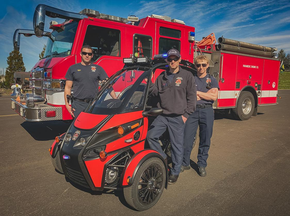 It is hoped that the Rapid Resonder will provide a more efficient service to the tens of thousands of emergency calls received by the Eugene Springfield Fire Dept every year