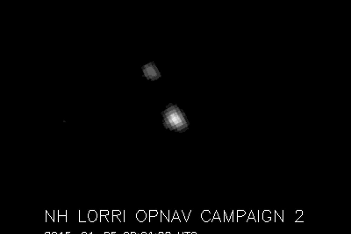 Pluto and its moon Charon (Image: NASA/JHU APL/SwRI)