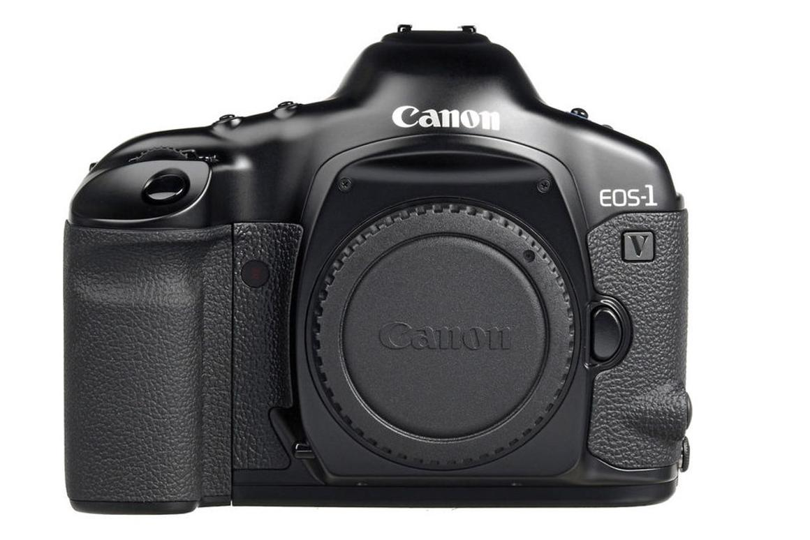 Canon's final film camera, the EOS-1V, has been discontinued