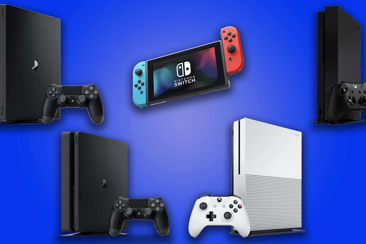 New Atlas compares the specs and features of the Xbox One, PS4, Xbox One X, PS4 Pro and Nintendo Switch