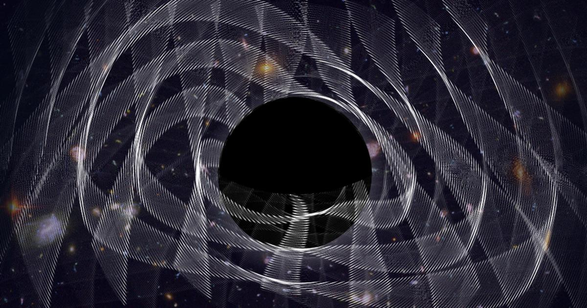 """""""Ringing"""" black hole proves Einstein right yet again"""