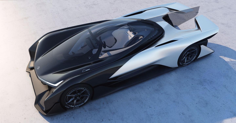 The FFZERO1 uses carbon composite construction