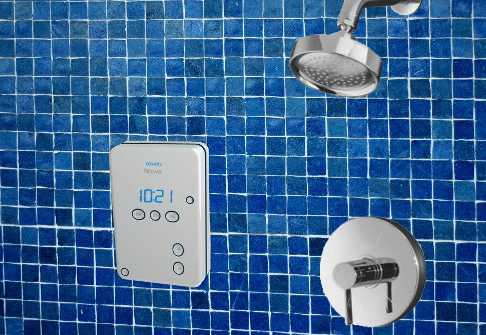 """The iShower from iDevices is a bluetooth-enabled water resistant speaker for """"aqua-centric environments"""""""