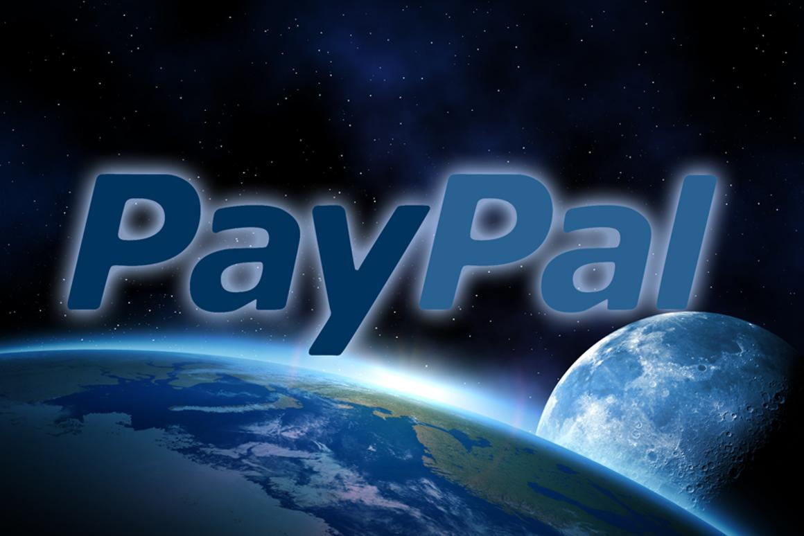 PayPal is looking to extend its brand across the Solar System (Image: Digitally-altered from Shutterstock original)
