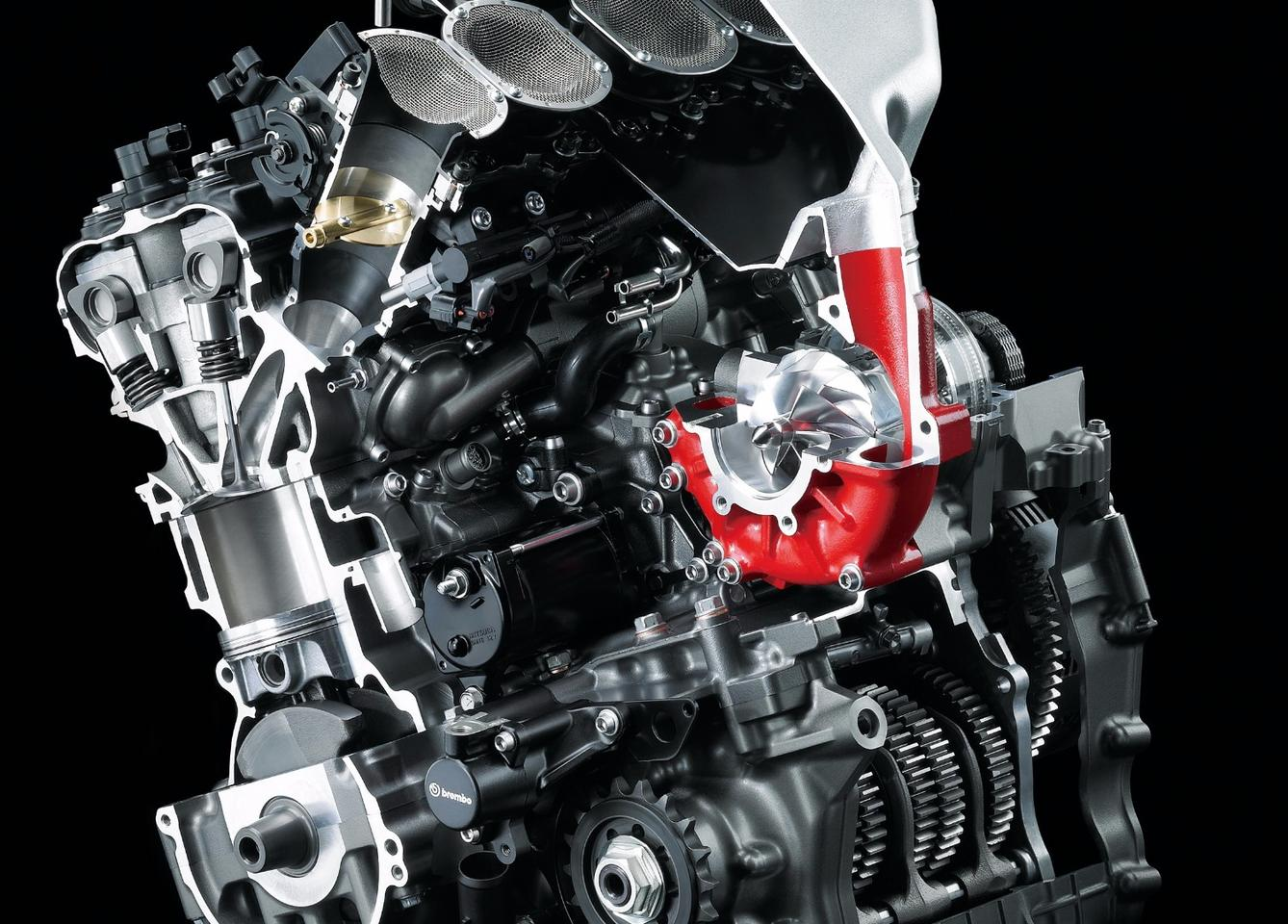 Forced induction systems, like the one from Kawasaki H2R, are making a comeback in motorcycle production and they are only targeting extreme power