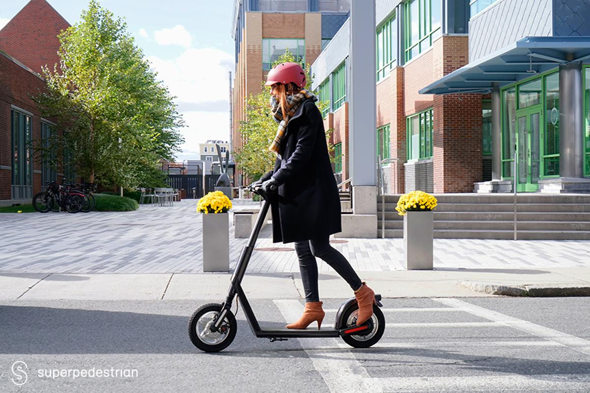 Superpedestrian e-scooters come with Vehicle Intelligence onboard, which allows the vehicle to keep track of its own health in real time and automatically report issues to fleet operators