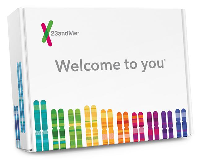 The 23andMe home genetic testing kit