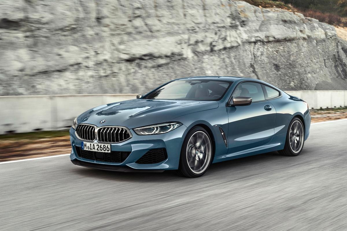 The 2019 BMW 8 Series Coupe was designed in parallel with the BMW M8 GTE race car